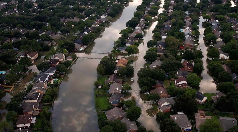 'Worst flood ever' hits Houston in wake of Hurricane Harvey