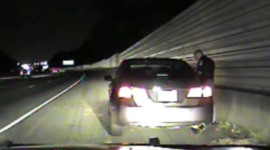 'We only kill black people': US cop reassures female driver during routine stop