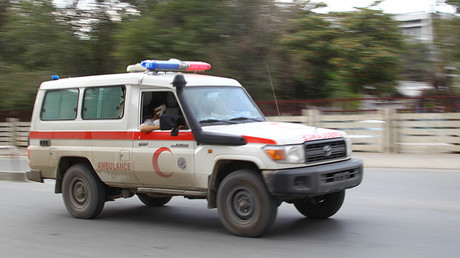 FILE PHOTO: An ambulance rushes to hospital in Kabul © Gong Bing / Global Look Press