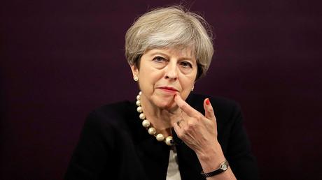 Britain's Prime Minister Theresa May © Matt Dunham