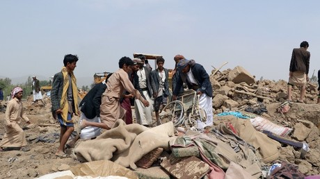 9 family members killed in alleged Saudi-led coalition airstrike in Yemen (GRAPHIC VIDEO)