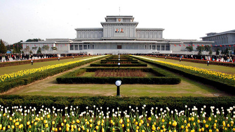 The Kumsusan Palace of the Sun in Pyongyang © KCNA