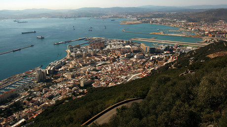 A general view of the British overseas territory of Gibraltar © Jon Nazca