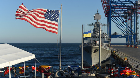 US Navy team starts building maritime ops center at Ukrainian base