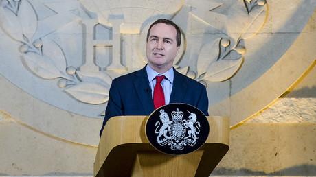 The director of Britain's GCHQ Robert Hannigan © Ben Birchall