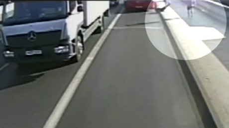 Bus driver admits he hit accelerator & catapulted pedestrian 45ft in air (VIDEO)