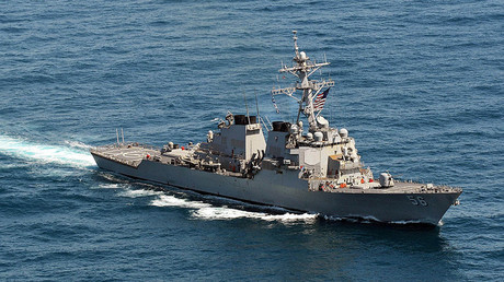 The Arleigh Burke-class guided-missile destroyer USS John S. McCain (DDG 56). © US Navy / MC3 Declan Barne