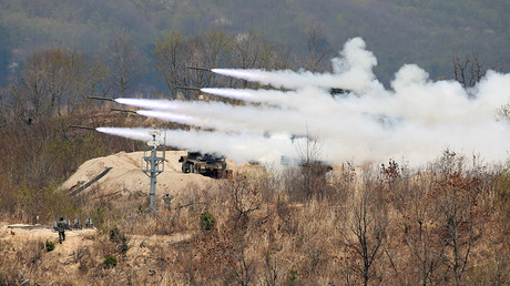 FILE PHOTO: South Korean Army's multiple launch rocket system (MLRS) © Kim Hong-Ji
