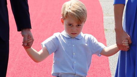Britain's Prince George. © Fabrizio Bensch