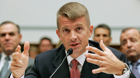 Founder of Blackwater US Erik Prince © Larry Downing