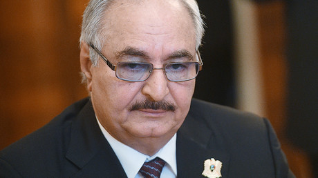 Libyan strongman Haftar visits Moscow, discusses restoration of statehood & possible military aid