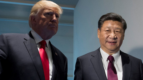 US President Donald Trump and Chinese President Xi Jinping © Saul Loeb