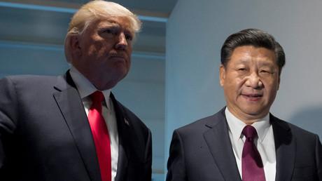 US President Donald Trump and Chinese President Xi Jinping © Saul Loeb