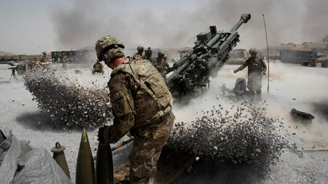 US Army soldiers in Panjwai district, Kandahar province, southern Afghanistan © Baz Ratner