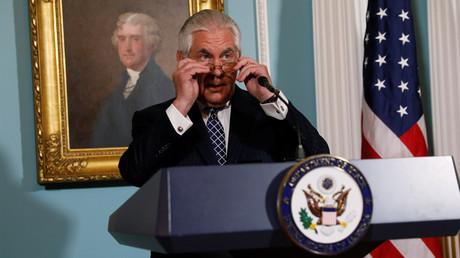 US Secretary of State Rex Tillerson © Jonathan Ernst