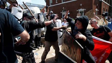 Far-right BNP says Britain should brace itself for Charlottesville-style clashes