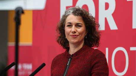Shadow Secretary of State for Women and Equalities, Sarah Champion. © Ian Hinchliffe / London News Pictures / Global Look Press