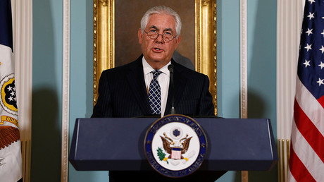 Damage control? Tillerson pushes for diversity at State Dept amid Trump controversy