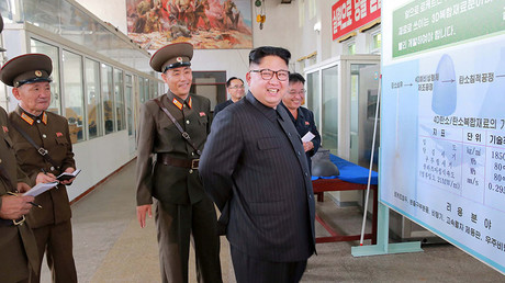 N. Korea to produce more rocket engines, warhead tips after US lauds Pyongyang's restraint