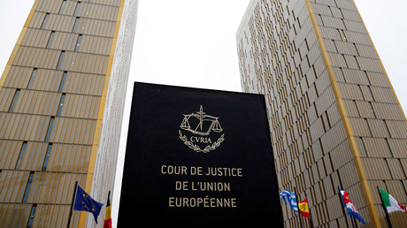 The towers of the European Court of Justice are seen in Luxembourg. ©Francois Lenoir