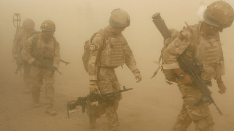 FILE PHOTO British soldiers in Malgir, Helmand province, Afghanistan © Omar Sobhani