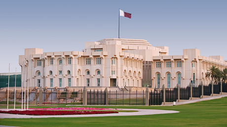 The Emir's Palace in Doha, Qatar. © Getty Images