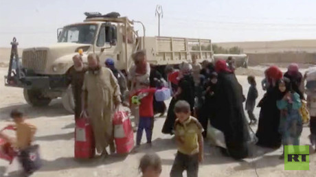 Iraq's new ground zero: Thousands of civilians desperately fleeing Tal Afar battleground