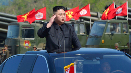 North Korea's leader Kim Jong Un. © KCNA