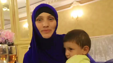 5 Russian-speaking children orphaned in Iraq brought back home to Russia