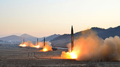 N. Korea launches first missiles since nuke threats row with US