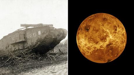 WWI tanks influence NASA's planned Venus lander (VIDEO)