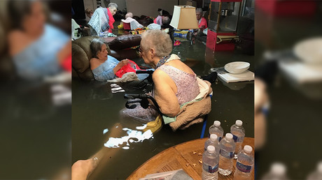 Viral image of submerged care home residents prompts Hurricane Harvey rescue