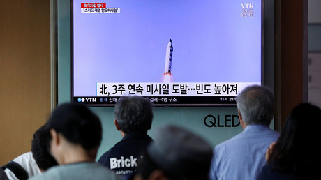North Korea fires missile through Japan's airspace