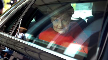 German Chancellor Angela Merkel © Hannibal Hanschke