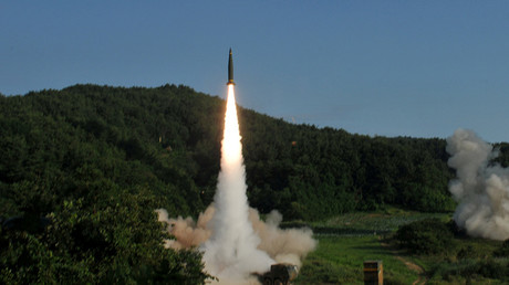 FILE PHOTO:  South Korea's Hyunmoo Missile II © Reuters