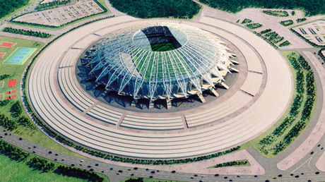 Spectacular 'flying saucer' Russia 2018 venue in Samara to be completed by end of year – official