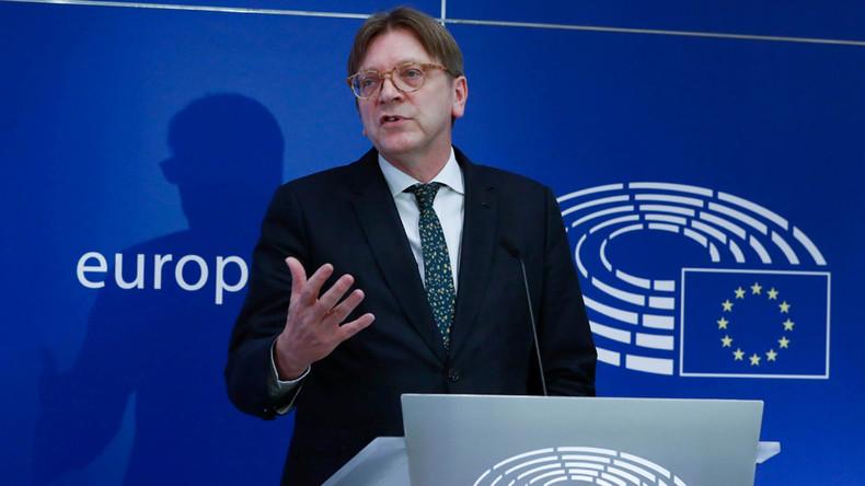 'Inflexible' EU has 'bent over backwards' for UK – Guy Verhofstadt