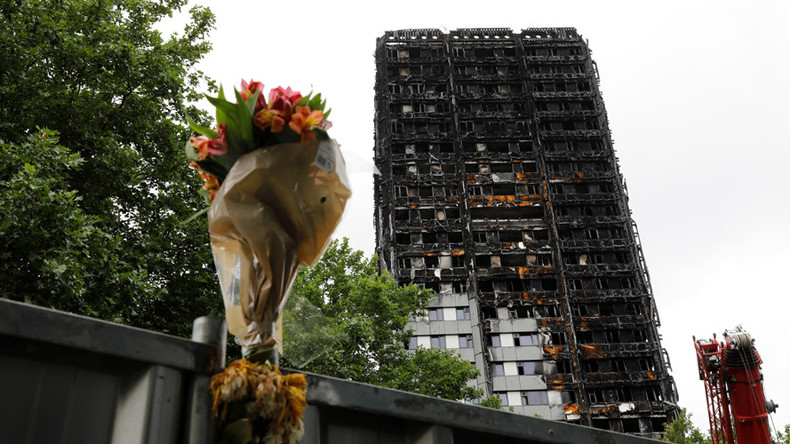Fury over whitewashing of 'Justice' graffiti for Grenfell Tower fire victims