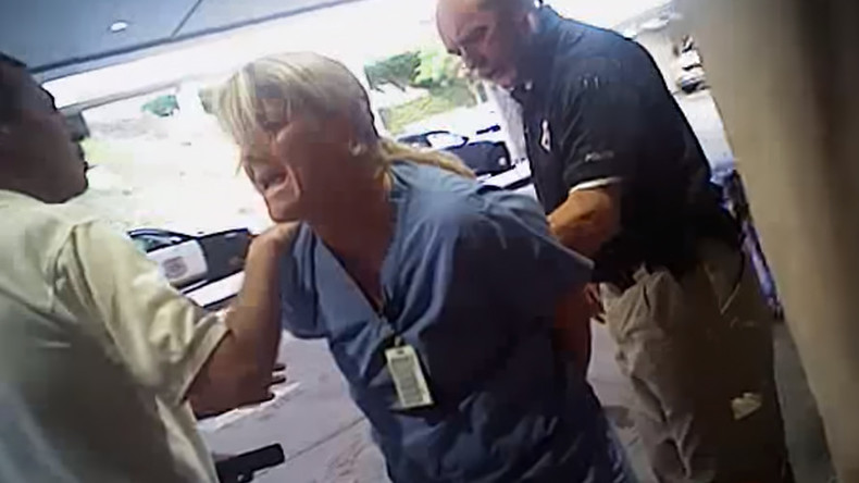 Utah cop who arrested nurse under criminal investigation, suspended as SLC aims to make amends