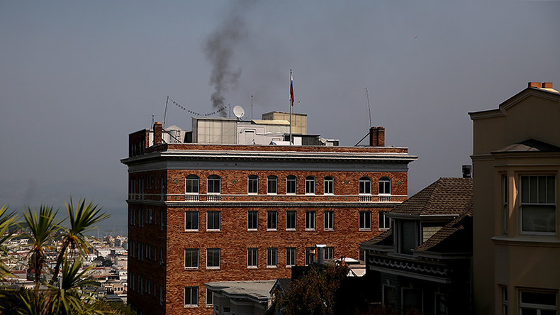 Wild theories & hot takes: Smoke from Russian consulate in SF causes Twitter frenzy