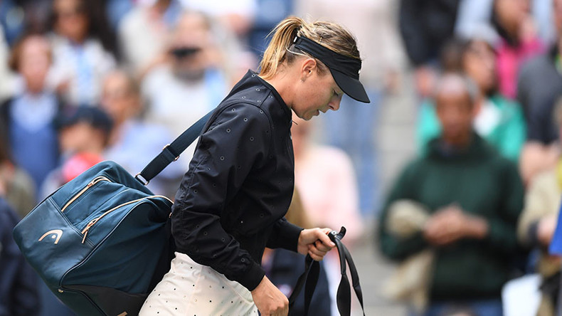 'I can take a lot from this week' says Maria Sharapova after US Open exit