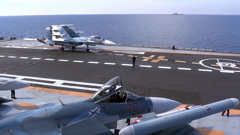 Admiral Kuzsov Russian Aircraft Carrier