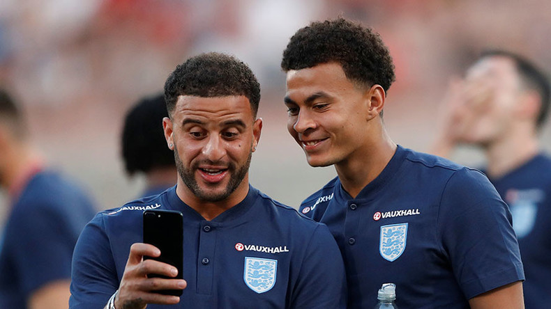 'Strange way of communicating!' England players in bizarre middle finger 'joke'
