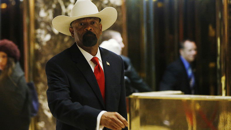 Ex-sheriff Clarke to join pro-Trump PAC focused on steering Republican lawmakers