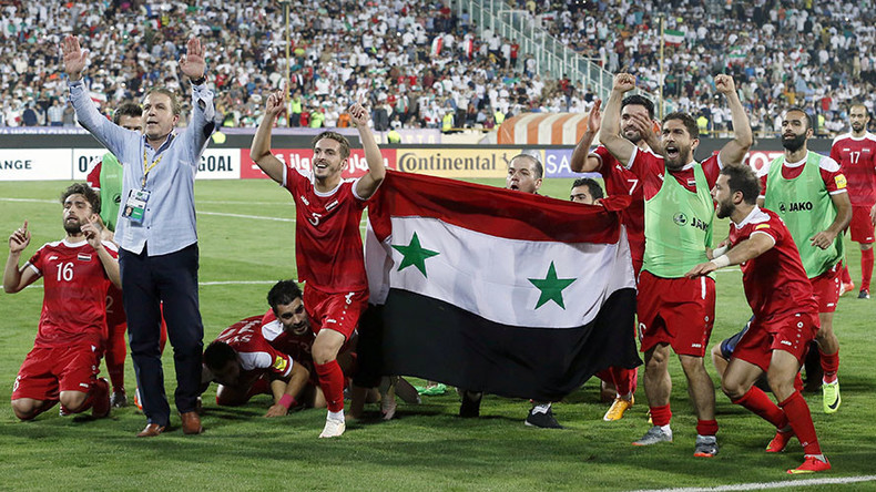 Syrian commentator bursts into tears at last-gasp, Russia 2018 playoff-clinching goal (VIDEO)