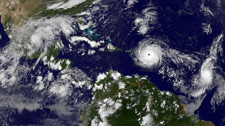 Tropical triple threat: Irma followed by Hurricanes Katia & Jose