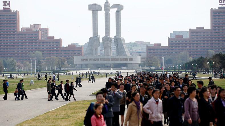 Pyongyang from above: N. Korean capital captured in rare aerial footage