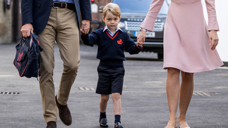 'Prince George' or 'George at ASDA': Britain's inequality chasm laid bare by school uniforms