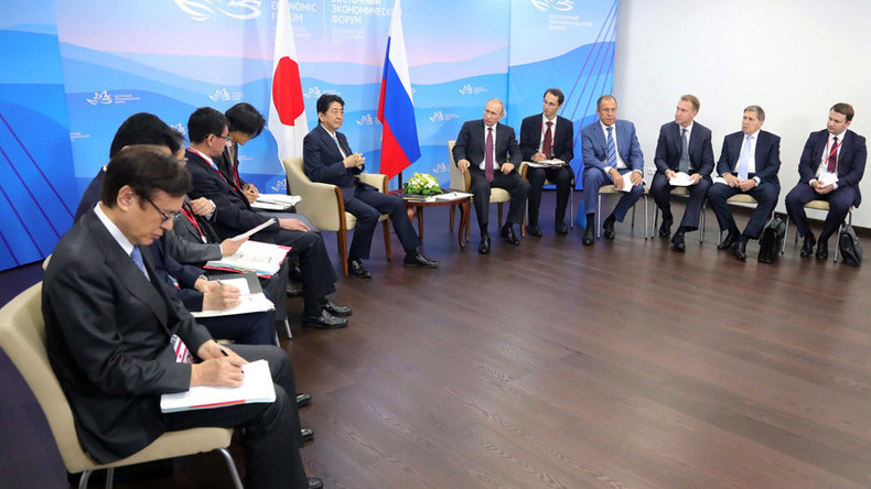 Russia & Japan ink over 50 agreements at EEF 2017