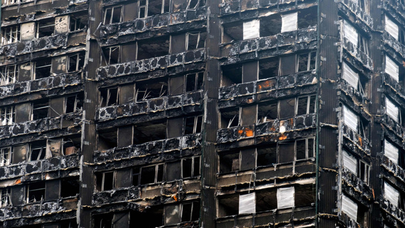 We are forced to bid against fellow survivors for a new home, Grenfell resident tells RT (VIDEO)